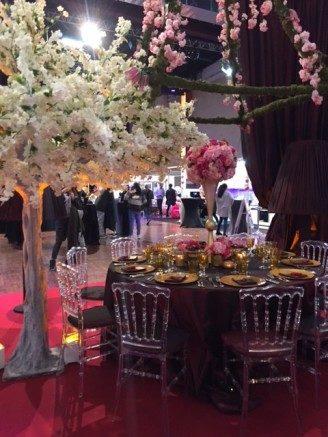 Orientalische Hochzeit - Ambiente