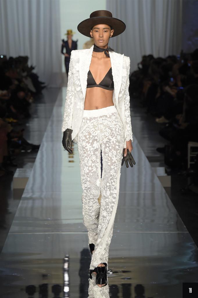 Gaultier 2017 - Abendkleider mit Hosen