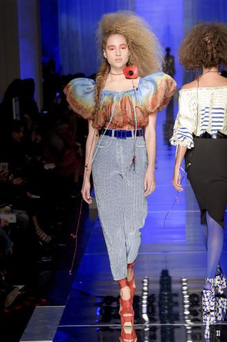 Gaultier 2017 - Abendhosen