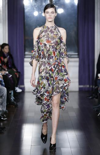 Kleid mit Rüschen, JASON WU Kleider 2017/18