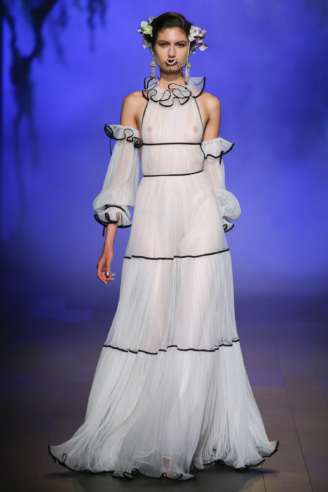 Naeem Khan - modernes Brautkleid, Abendkleid, Ballkleid