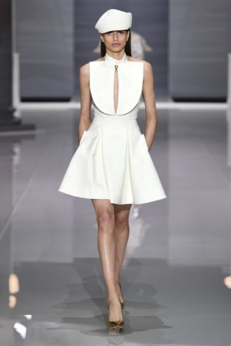 Cocktail Mini-Kleid in Weiß