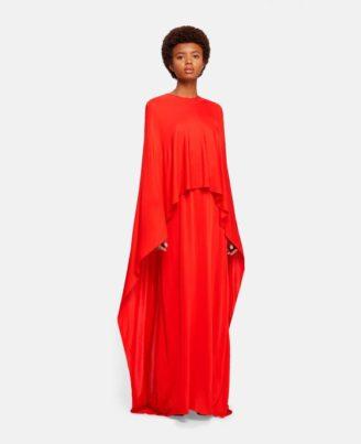 Abendkleid in Lippstick Red Stella McCartney