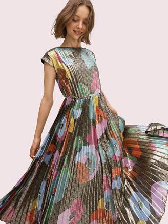 Plisseekleid von Kate Spade, Sommerkleid